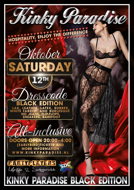 12 oktober 2019 Kinky Paradise meet Black
